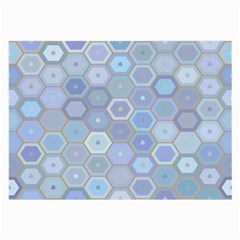Bee Hive Background Large Glasses Cloth
