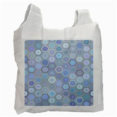 Bee Hive Background Recycle Bag (one Side)