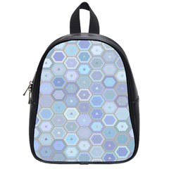 Bee Hive Background School Bags (small)