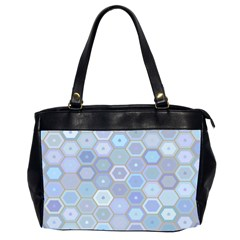 Bee Hive Background Office Handbags (2 Sides)