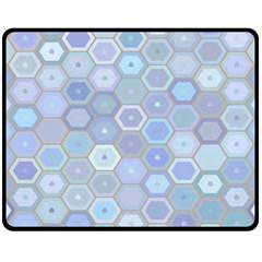 Bee Hive Background Fleece Blanket (Medium)