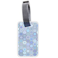 Bee Hive Background Luggage Tags (two Sides)