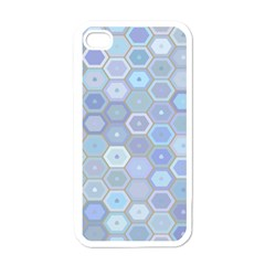 Bee Hive Background Apple Iphone 4 Case (white)