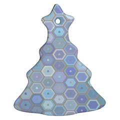 Bee Hive Background Ornament (christmas Tree)