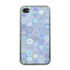 Bee Hive Background Apple Iphone 4 Case (clear)