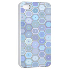 Bee Hive Background Apple Iphone 4/4s Seamless Case (white)