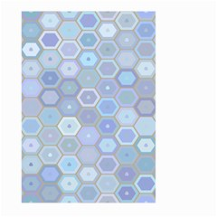 Bee Hive Background Large Garden Flag (two Sides)