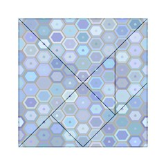 Bee Hive Background Acrylic Tangram Puzzle (6  X 6 )