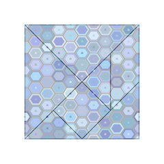 Bee Hive Background Acrylic Tangram Puzzle (4  X 4 )