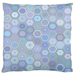 Bee Hive Background Large Cushion Case (two Sides)