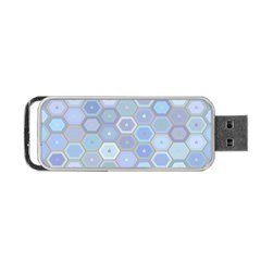 Bee Hive Background Portable Usb Flash (one Side)
