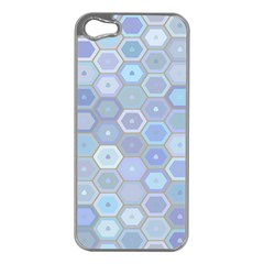 Bee Hive Background Apple Iphone 5 Case (silver)