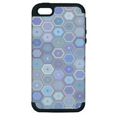 Bee Hive Background Apple Iphone 5 Hardshell Case (pc+silicone)