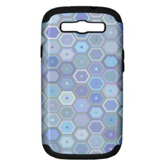 Bee Hive Background Samsung Galaxy S Iii Hardshell Case (pc+silicone)