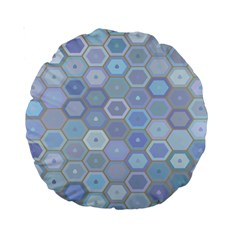 Bee Hive Background Standard 15  Premium Round Cushions