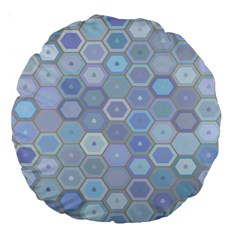 Bee Hive Background Large 18  Premium Round Cushions