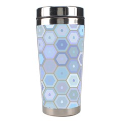 Bee Hive Background Stainless Steel Travel Tumblers