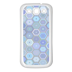 Bee Hive Background Samsung Galaxy S3 Back Case (white)