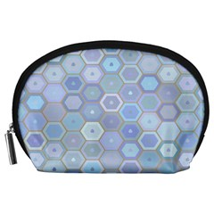 Bee Hive Background Accessory Pouches (large)