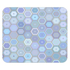 Bee Hive Background Double Sided Flano Blanket (small)