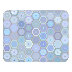 Bee Hive Background Double Sided Flano Blanket (large)