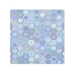 Bee Hive Background Small Satin Scarf (square)