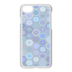 Bee Hive Background Apple Iphone 7 Seamless Case (white)