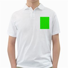 Bee Hive Texture Golf Shirts