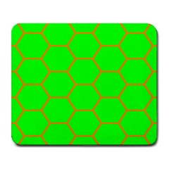 Bee Hive Texture Large Mousepads