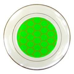 Bee Hive Texture Porcelain Plates
