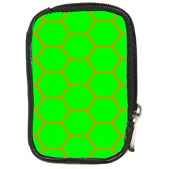 Bee Hive Texture Compact Camera Cases