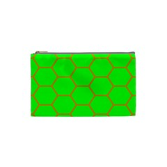 Bee Hive Texture Cosmetic Bag (Small)