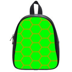 Bee Hive Texture School Bags (small)