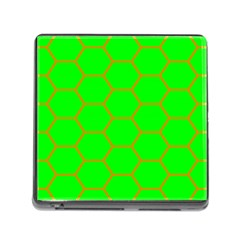 Bee Hive Texture Memory Card Reader (square)