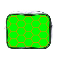Bee Hive Texture Mini Toiletries Bags