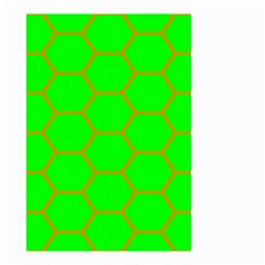 Bee Hive Texture Small Garden Flag (two Sides)