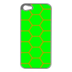 Bee Hive Texture Apple Iphone 5 Case (silver)