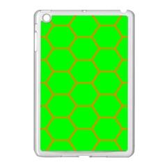Bee Hive Texture Apple Ipad Mini Case (white)