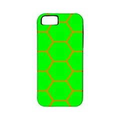 Bee Hive Texture Apple Iphone 5 Classic Hardshell Case (pc+silicone)