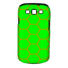 Bee Hive Texture Samsung Galaxy S Iii Classic Hardshell Case (pc+silicone)