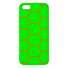 Bee Hive Texture Apple iPhone 5 Premium Hardshell Case