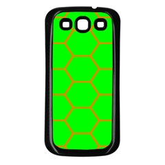 Bee Hive Texture Samsung Galaxy S3 Back Case (black)