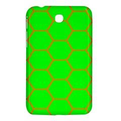 Bee Hive Texture Samsung Galaxy Tab 3 (7 ) P3200 Hardshell Case