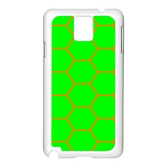 Bee Hive Texture Samsung Galaxy Note 3 N9005 Case (white)