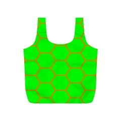 Bee Hive Texture Full Print Recycle Bags (s)