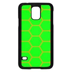 Bee Hive Texture Samsung Galaxy S5 Case (black)