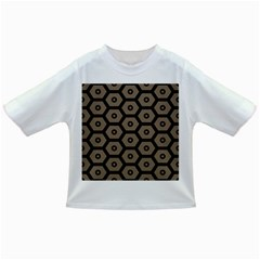 Black Bee Hive Texture Infant/Toddler T-Shirts