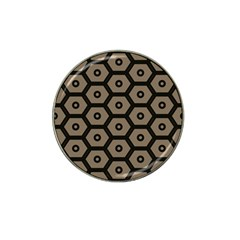 Black Bee Hive Texture Hat Clip Ball Marker