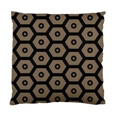 Black Bee Hive Texture Standard Cushion Case (one Side)