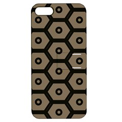 Black Bee Hive Texture Apple Iphone 5 Hardshell Case With Stand